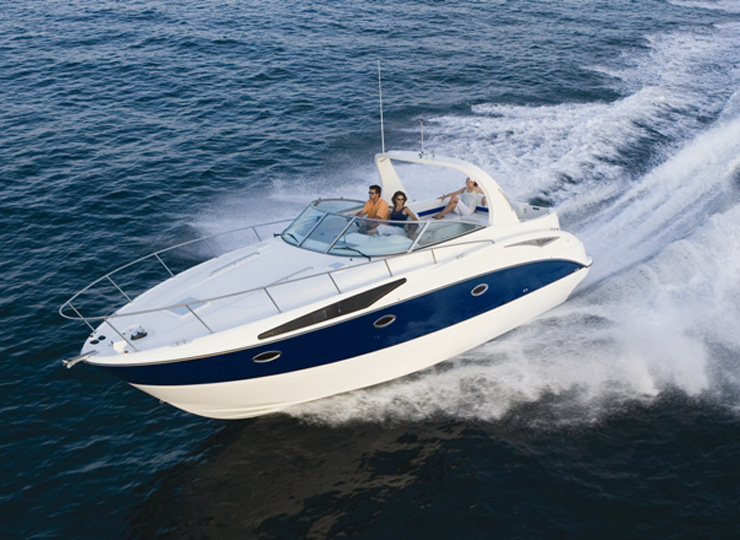 Hire Bay Liner 340 Yacht in Goa - Funkey Event