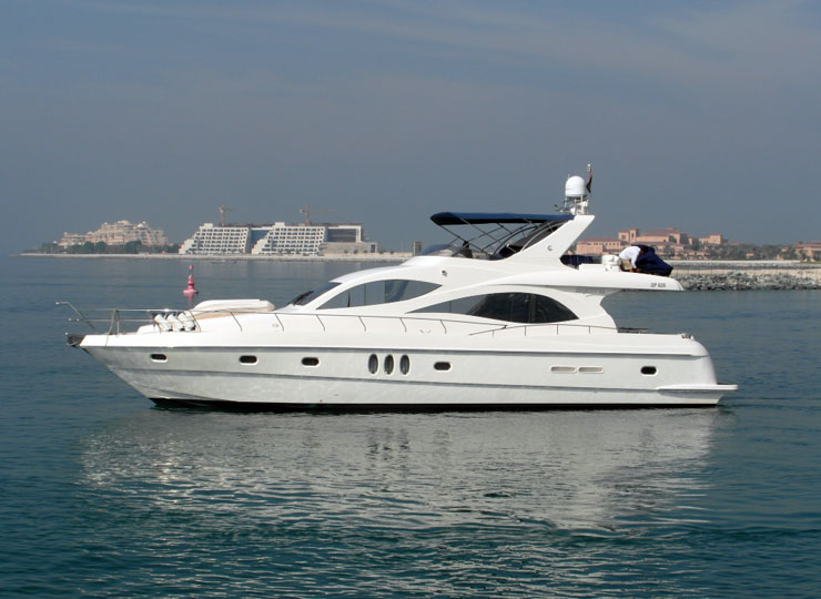 Hire majesty 66 luxury yachts in Goa, Mumbai - Funkey Event